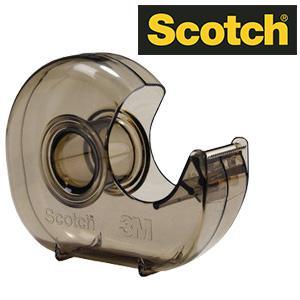 Līmlentes turētājs 3M Scotch H-127 dūmkaini caurspīdīgs