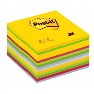 Līmlapiņu kubs 3M Post-it ULTRA 76x76mm, 450 lap.
