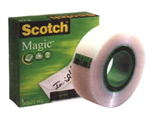 Līmlente 3M Scotch Magic 810 19mmx33m matēta