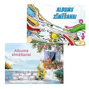Zīmēšanas albums A4/30 lapas,  ABC Jums