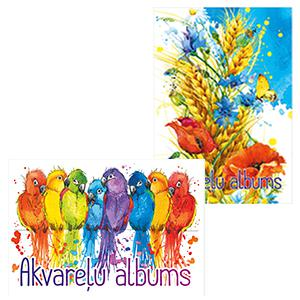 Akvareļu albums A3,  15 lapas