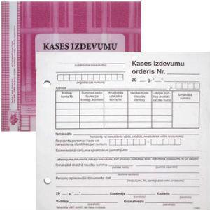 Kases izdevumu orderis A5V spec.