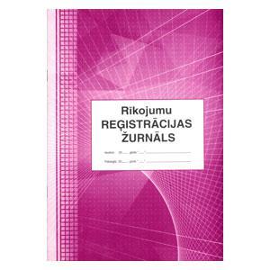 Rīkojumu registrācijas žurnāls,  A4/48 lapas