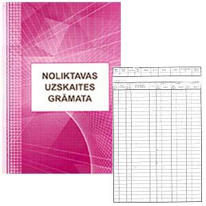 Noliktavas uzskaites grāmata,  A4Z,  48 lapas