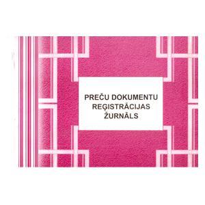 Preču dokumentu reģistrācijas žurnāls,  A4Z,  48 lapas