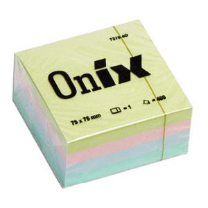 Līmlapiņas AERO ONIX 76x76/400lap. 4 krāsas