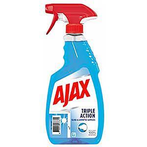 AJAX stiklu trīskāršas iedarbības tīrīšanas līdzeklis,  500ml