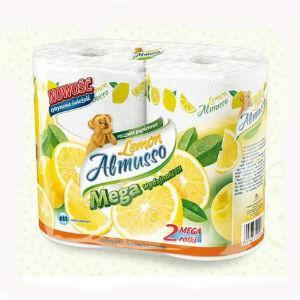 Dvieļi Almusso Lemon,  2 slāņi,  2 ruļļi x 20m