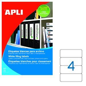 Uzlīmes reģistriem APLI ILC,  190x61mm