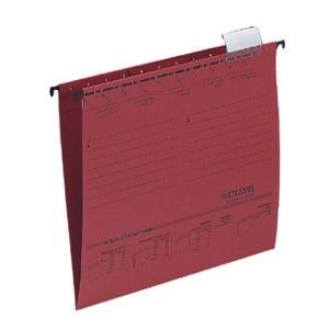 Fails SMEAD E-sērija A4 sarkans