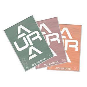 Lapas AURORA A4/100 rūtiņu