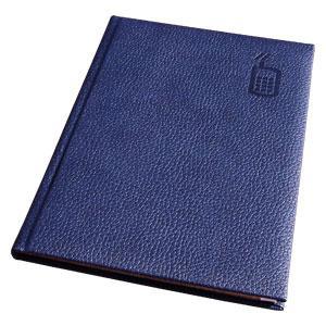 Telefonu grāmata AURORA A5/92 līniju,  zila