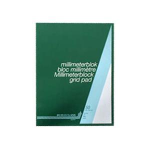 Milimetru papīrs AURORA A4/50 lapas