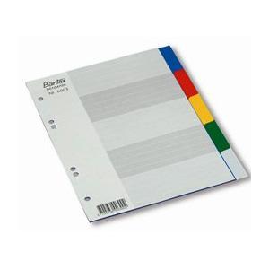 Sadalītājs A5/1-5 krāsains Bantex