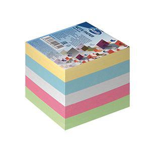 Piezīmju papīrs (maiņa) 85x85mm,  800lapas krāsains,  Forofis