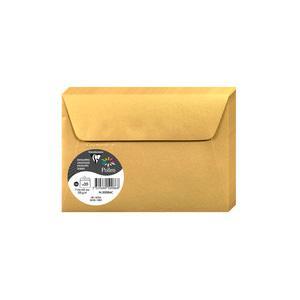 Aploksne C6 114x162 zelta spīdīga