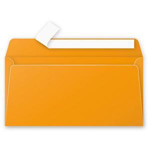 Aploksne E65 110x220 oranža krāsa