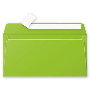 Aploksne E65 110x220 zaļa krāsa