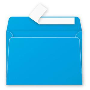 Aploksne C6 114x162mm zila krāsa
