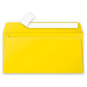 Aploksne E65 110x220 dzeltena krāsa