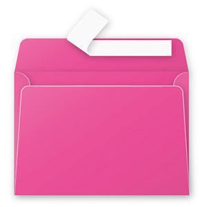 Aploksne C6 114x162mm rozā krāsa