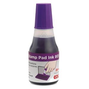 Zīmogu tinte violeta,  COLOP 801