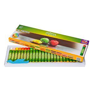 Eļļas pasteļkrītiņi 24 krāsas,  Cricco