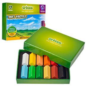 Pastelkrītiņi SOFT PASTELS 12 krāsas,  Cricco