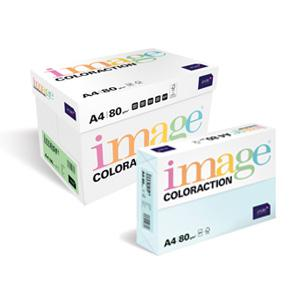 Krāsains papīrs IMAGE C. A4 80g/m2 500lp. siera dzeltens
