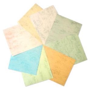 Papīrs Marmor 200g/70lp/A4,  dzeltena krāsa