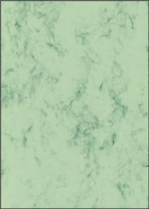 Papīrs Marmor 200g/70lp/A4,  zaļa krāsa