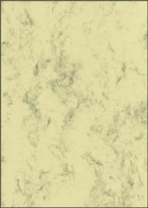 Papīrs Marmor 200g/70lp/A4,  krēmkrāsa