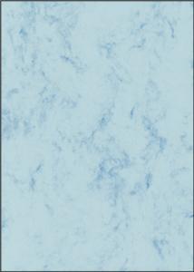 Papīrs Marmor 90g/100lp/A4,  gaiši zila krāsa