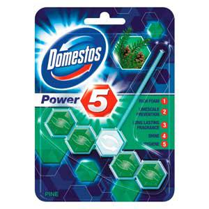 "WC-bloks DOMESTOS Power ""5"" Pine 55g."