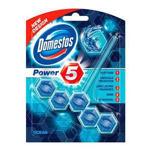 "WC-bloks DOMESTOS Power ""5"" Ocean 55g."