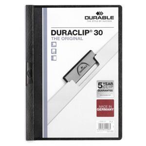 Mape Duraclip Original 30 DURABLE,  melna