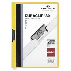 Mape Duraclip Original 30 DURABLE,  dzeltena