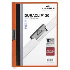 Mape Duraclip Original 30 DURABLE,  oranža