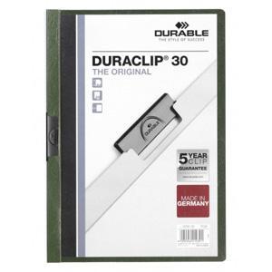 Mape Duraclip Original 30 DURABLE,  tumši zaļa