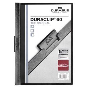 Mape Duraclip Original 60 DURABLE,  melna