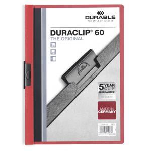 *Mape Duraclip Original 60 DURABLE,  sarkana