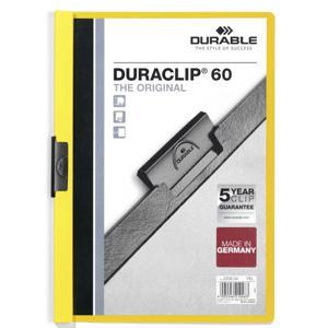 *Mape Duraclip Original 60 DURABLE,  dzeltena