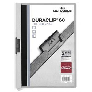 *Mape Duraclip Original 60 DURABLE,  pelēka