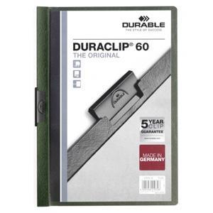 *Mape Duraclip Original 60 DURABLE,  tumši zaļa