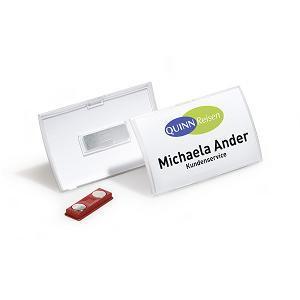 Personas karte Click Fold 40x75mm ar magnētu DURABLE