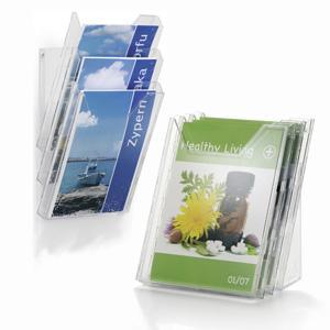 Informācijas turētājs Durable Combiboxx A4 ar 3 nodalījumiem