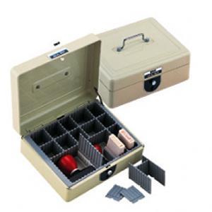 *Zīmogu kaste 663L 221x188x95mm,  melna