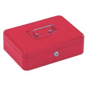 Naudas kaste 8878L 300x217x100mm sarkana