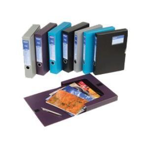 Kārba dokumentiem A4/58mm EAGLE 9155D zila