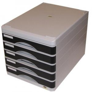 Комплект полочек EAGLE 9347S/F серый, 5 полок